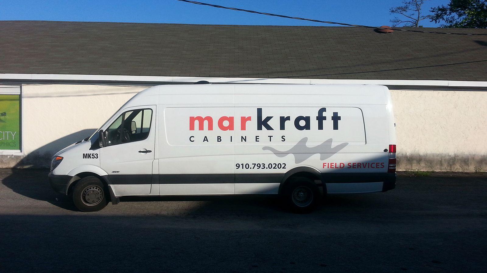 Markraft Cabinets print and cut graphics